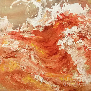 Sunset Wave III by Betty Pinkston