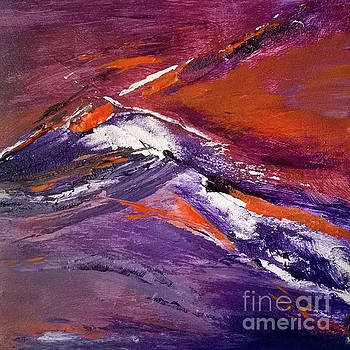 Sunset Wave IV by Betty Pinkston
