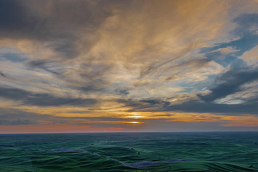 Sunsets on the Palouse by Daniel Ryan