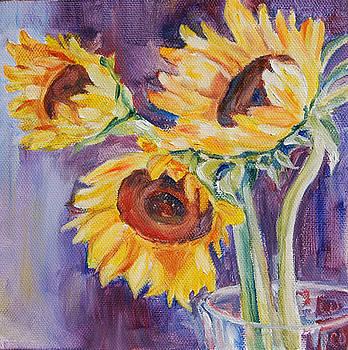 Sunshine on a Stem by Carol DeMumbrum