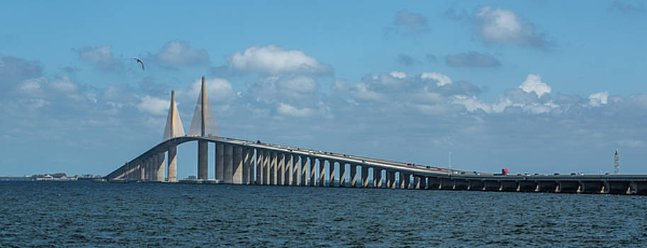 Sunshine Skyway Bridge by Greg Thiemeyer