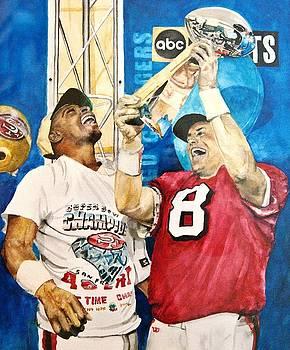 Super Bowl Legends by Lance Gebhardt