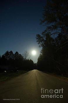 Super Moon Drive by Marianne Kuzimski