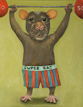 Leah Saulnier The Painting Maniac - Super Rat 2