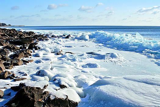 Superior Shore Ice by Bill Morgenstern