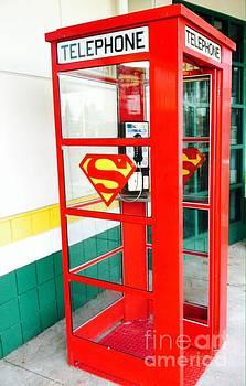 Superman Phone Booth by Michael Krek