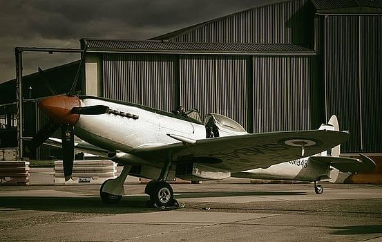 Supermarine Spitfire SM845 by Jason Green