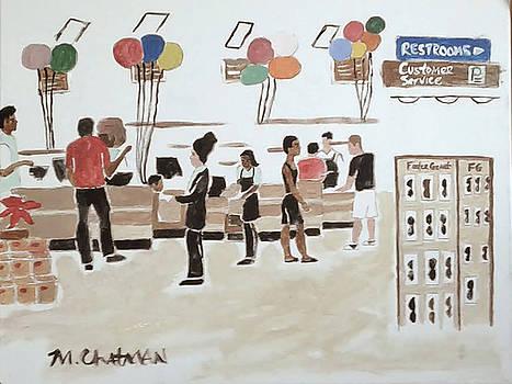 Supermarket Checkout by Michael Chatman