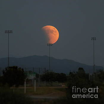Supermoon Balancing Act by Marilyn Smith