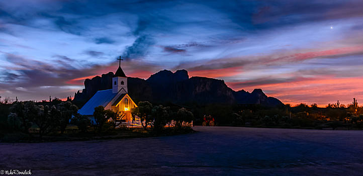 Superstition Sunrise by Mike Ronnebeck