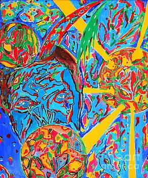 Sureal Face by Yury Bashkin