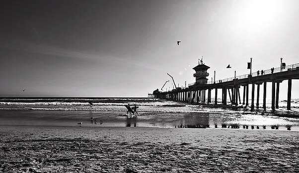 Surf Break by Brad Scott