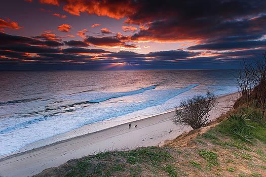 Surf On Nauset Light Beach by Dapixara Art