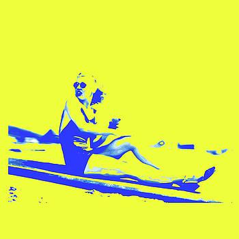 Surfer Girl 1940s by Joy McKenzie