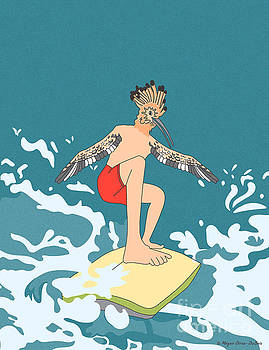 SurferBird by Megan Dirsa-DuBois