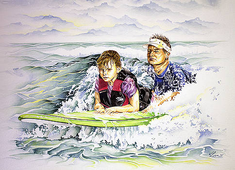 Surfers Healing by William Love