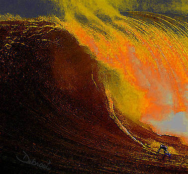 Surfing Dream by Deborah Rosier