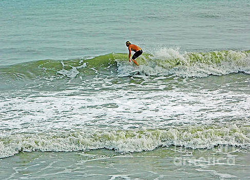 Surfing in Florida by D Hackett