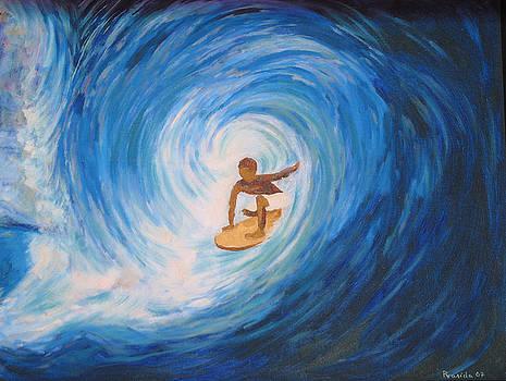 Surfing by Prasida Yerra