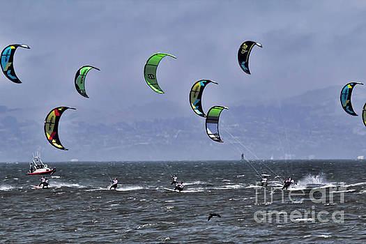 Chuck Kuhn - Surfing San Francisco Bay Kite
