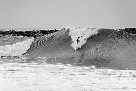 Surf's Up BW by Eddie Yerkish