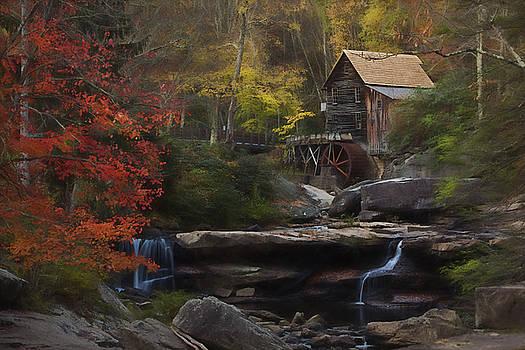 Surreal Glade Creek by Jonas Wingfield