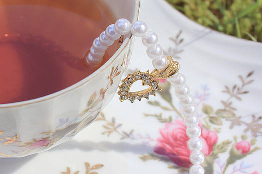 Surreal Mad Tea Party Necklace by Lara Whitmore