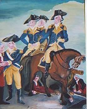 Surrender At Trenton by Patrick Desenclos