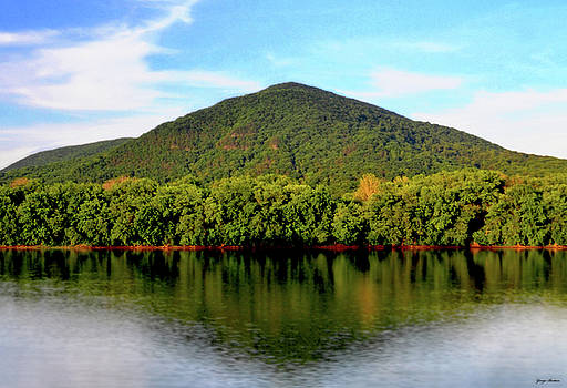 Susquehanna River Reflections 001 by George Bostian