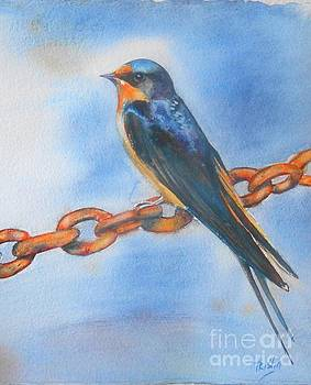 Swallow by Patricia Pushaw