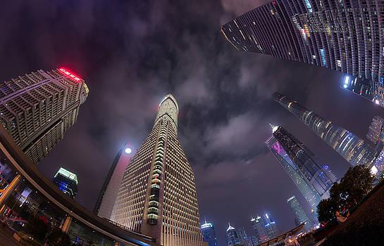 Swallowed by Skyscraper by Bun Lee