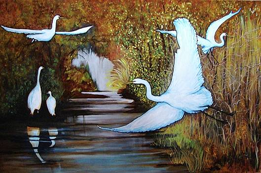 Swamp 1 by Jorge Parellada