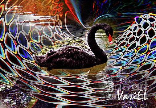 Swan fantasy by Vasil Yankulski