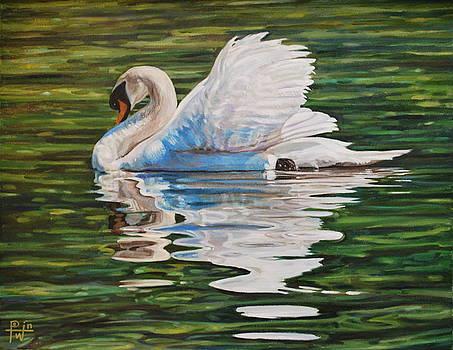 Swan by Henry David Potwin