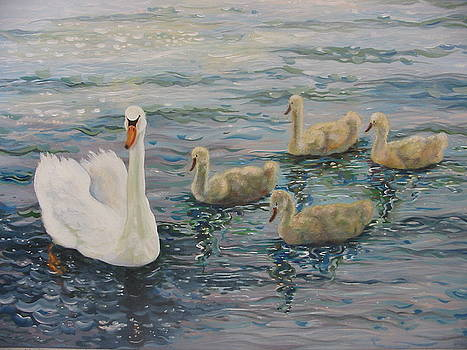 Swan Mother by Eve Corin
