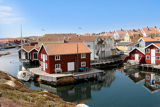 Sweden Fishing Village by Jim Kuhlmann