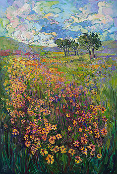 Sweep of Wildflowers by Erin Hanson