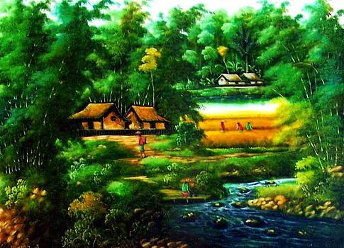 Sweet Auburn loveliest village of the plain by Yuki Othsuka