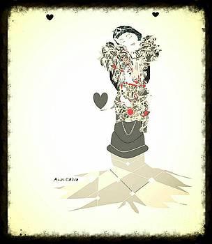 Sweet Lady 8 by Ann Calvo