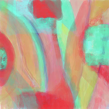 Sweet Little Abstract by Susan Stone