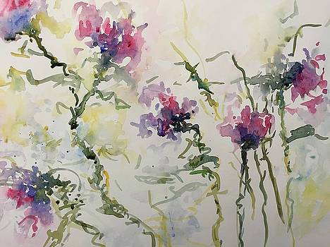 Sweet Peas by Donna Eaton