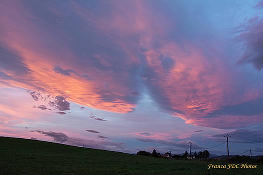Sweet Sunset  by Francoise Dugourd-Caput