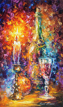 Sweet Wine  by Leonid Afremov