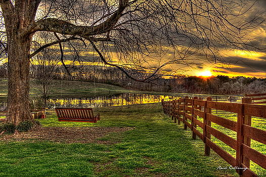 Swing Swang Swung Sunset by Reid Callaway
