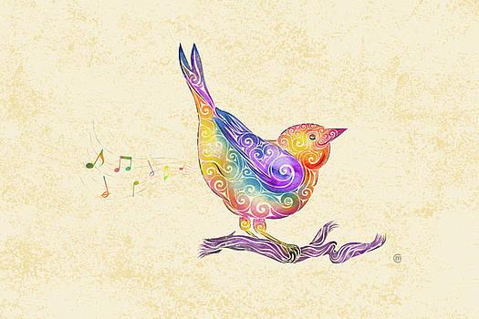 Swirly Bird by Carolina Matthes