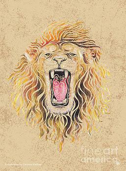 Swirly Lion by Carolina Matthes