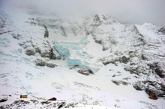 Swiss Alps Glacier by Richard Gehlbach