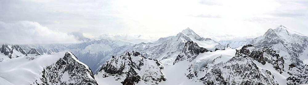 Swiss Alps by Richard Gehlbach