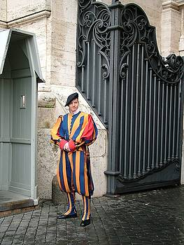 Martina Fagan - Swiss Guard