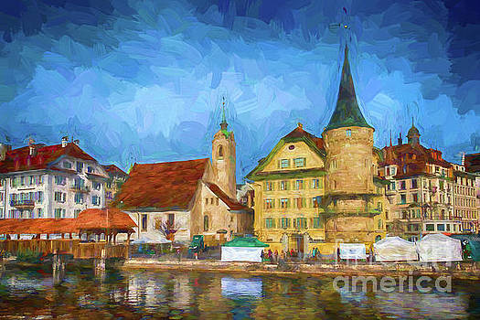 Swiss Town by Pravine Chester